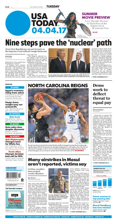 04/04/2017 Issue of USA TODAY