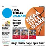 04/07/2014 Issue of USA TODAY