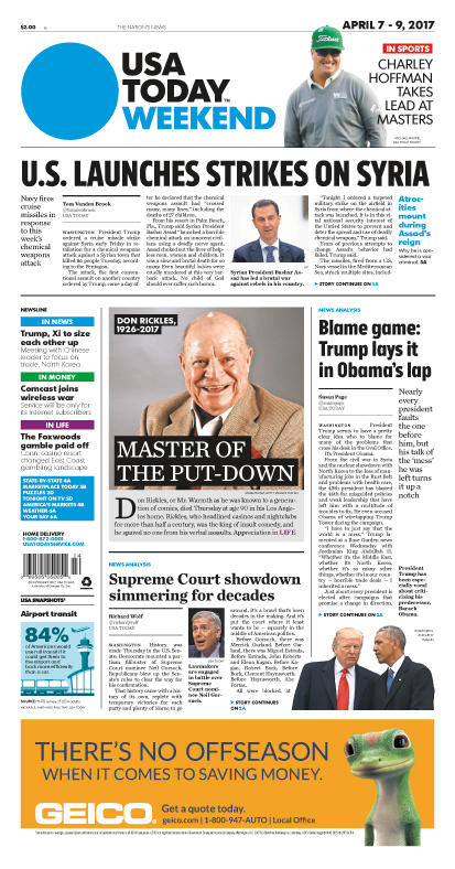 04/07/2017 Issue of USA TODAY