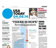 04/08/2014 Issue of USA TODAY