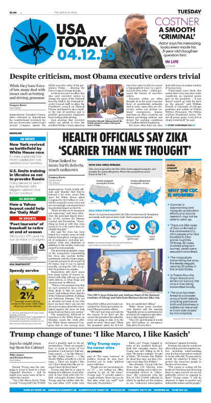 04/12/2016 Issue of USA TODAY
