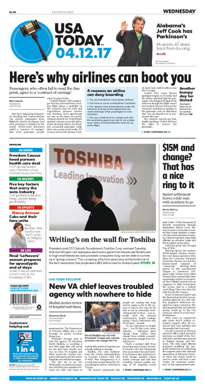 04/12/2017 Issue of USA TODAY