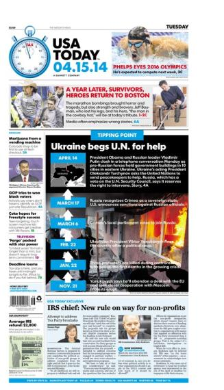 04/15/2014 Issue of USA TODAY