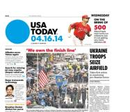 04/16/2014 Issue of USA TODAY