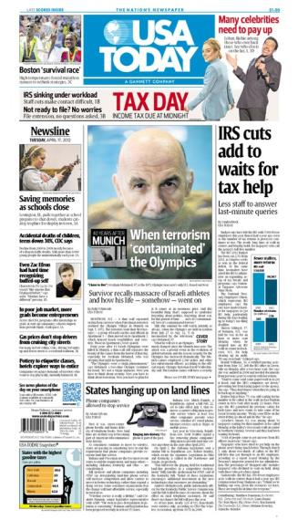 04/17/2012 Issue of USA TODAY
