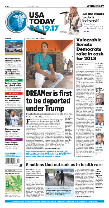 04/19/2017 Issue of USA TODAY MAIN