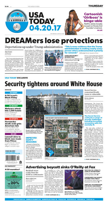 04/20/2017 Issue of USA TODAY