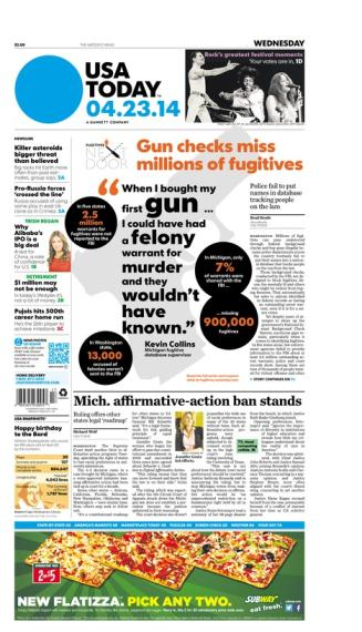 04/23/2014 Issue of USA TODAY