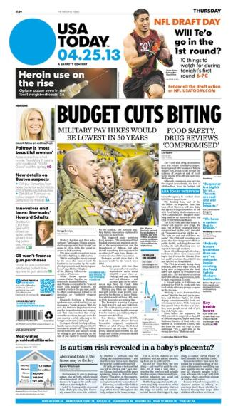 04/25/2013 Issue of USA TODAY