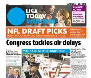 04/26/2013 Issue of USA TODAY