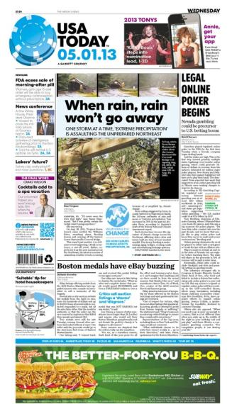 05/01/2013 Issue of USA TODAY