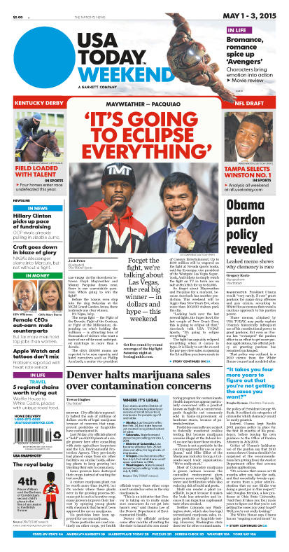 05/01/2015 Issue of USA TODAY