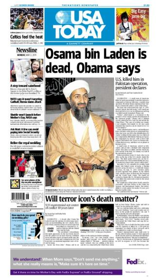 05/02/2011 Issue of USA TODAY