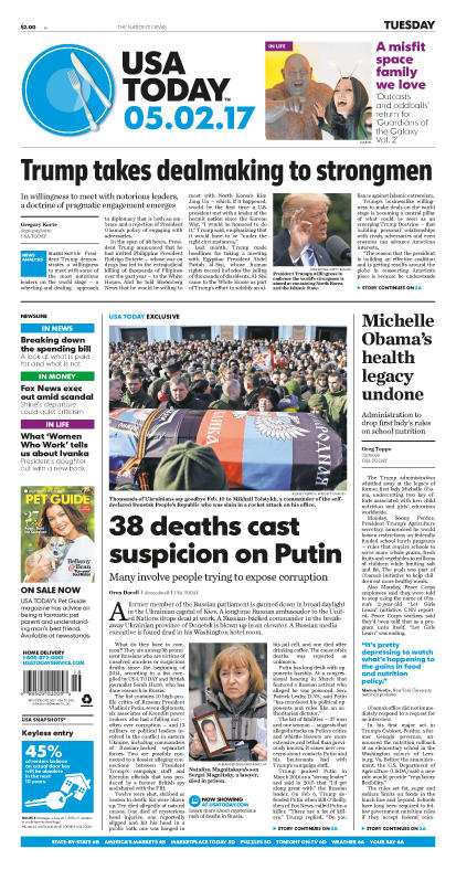 05/02/2017 Issue of USA TODAY