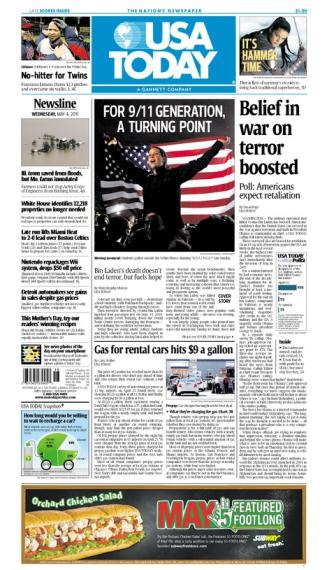 05/04/2011 Issue of USA TODAY