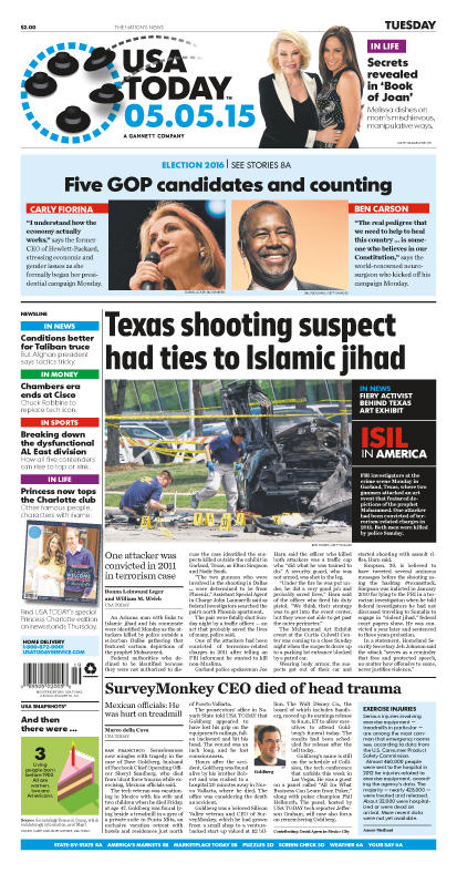 05/05/2015 Issue of USA TODAY