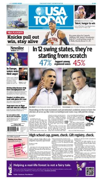 05/07/2012 Issue of USA TODAY