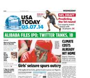 05/07/2014 Issue of USA TODAY