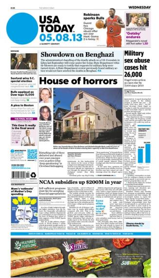 05/08/2013 Issue of USA TODAY