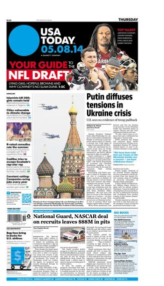 05/08/2014 Issue of USA TODAY