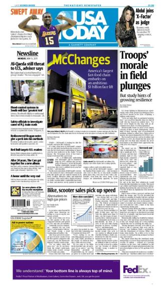 05/09/2011 Issue of USA TODAY