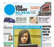 05/09/2013 Issue of USA TODAY