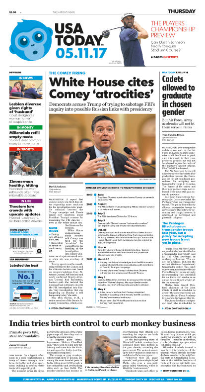 05/11/2017 Issue of USA TODAY_THUMBNAIL