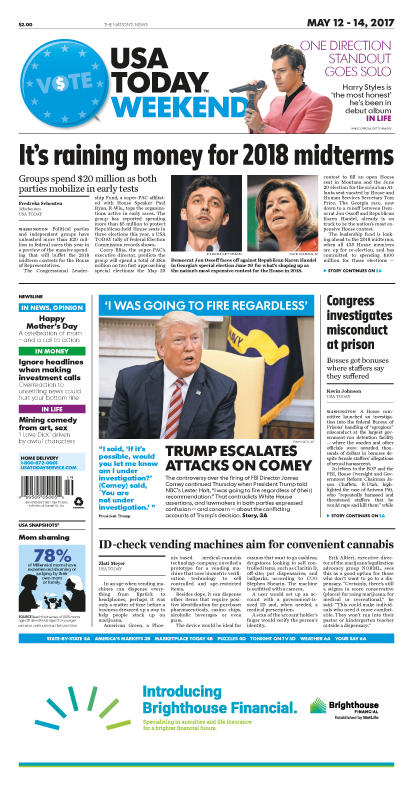 05/12/2017 Issue of USA TODAY