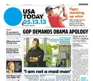 05/13/2013 Issue of USA TODAY