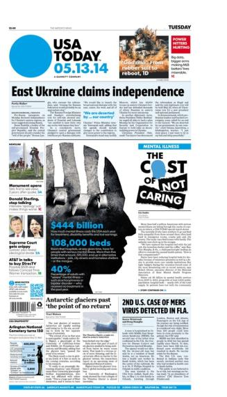 05/13/2014 Issue of USA TODAY