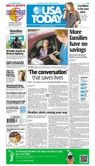 05/14/2012 Issue of USA TODAY