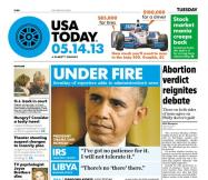 05/14/2013 Issue of USA TODAY
