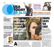 05/16/2013 Issue of USA TODAY