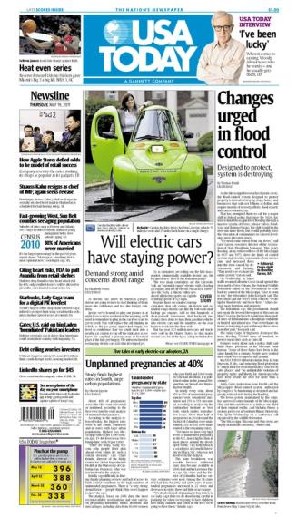 05/19/2011 Issue of USA TODAY
