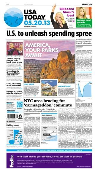 05/20/2013 Issue of USA TODAY