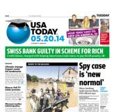 05/20/2014 Issue of USA TODAY
