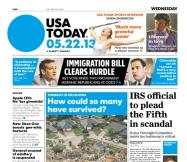 05/22/2013 Issue of USA TODAY