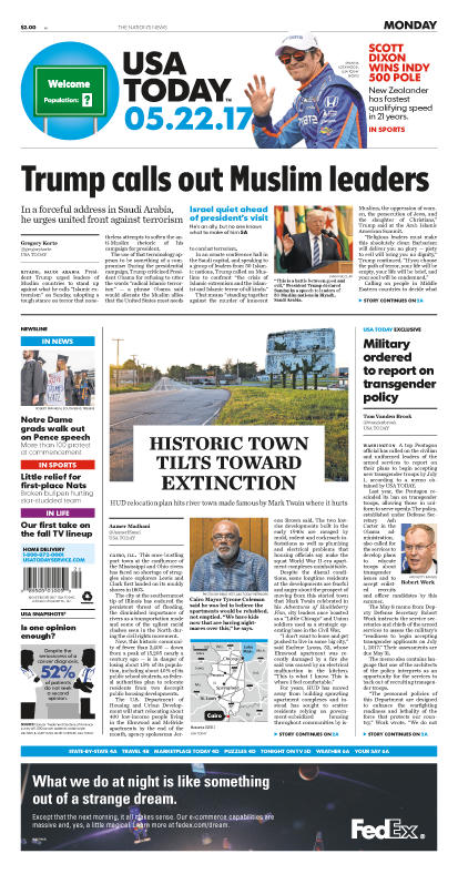 05/22/2017 Issue of USA TODAY MAIN