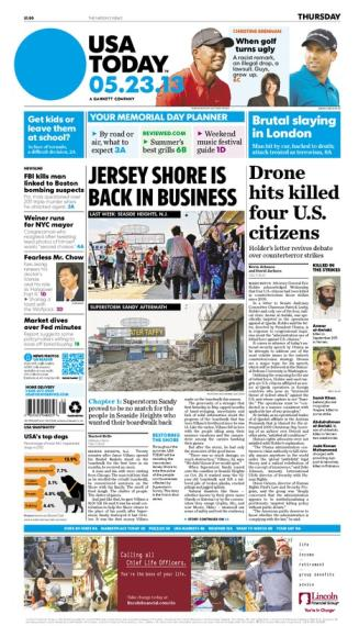 05/23/2013 Issue of USA TODAY