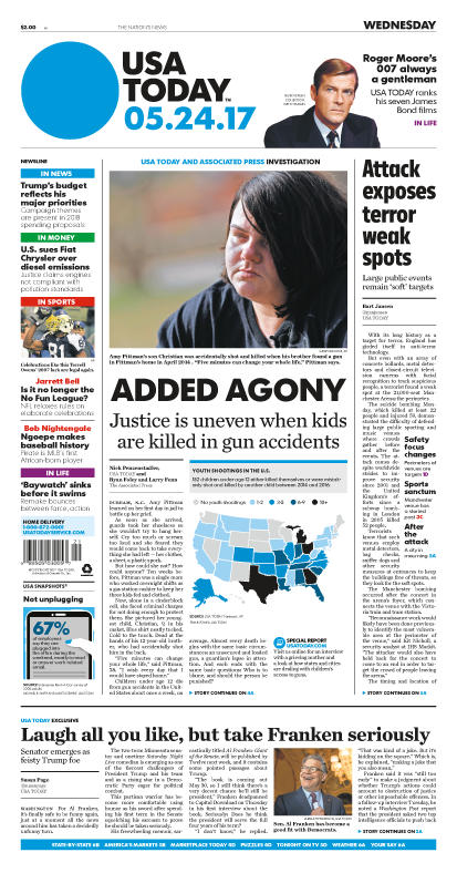 05/24/2017 Issue of USA TODAY MAIN