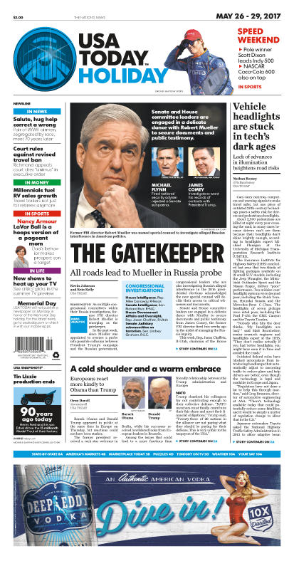 05/26/2017 Issue of USA TODAY