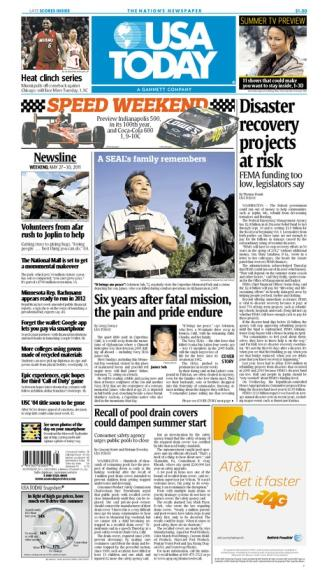 05/27/2011 Issue of USA TODAY