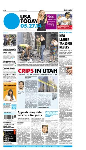 05/27/2014 Issue of USA TODAY