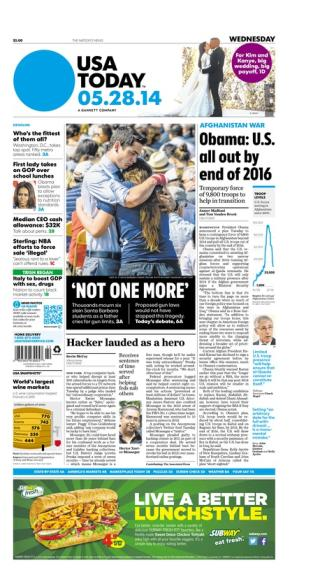 05/28/2014 Issue of USA TODAY