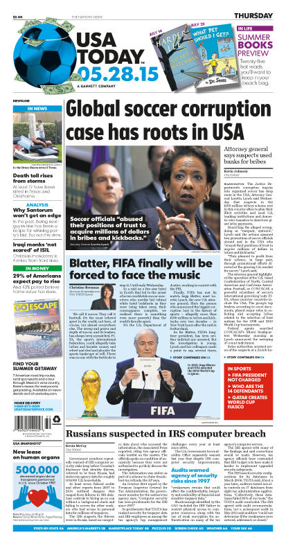 05/28/2015 Issue of USA TODAY