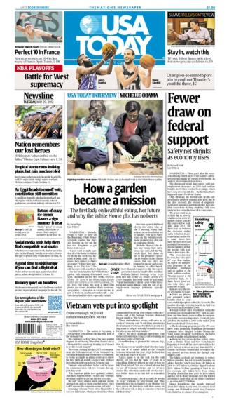 05/29/2012 Issue of USA TODAY