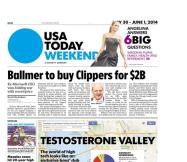05/30/2014 Issue of USA TODAY