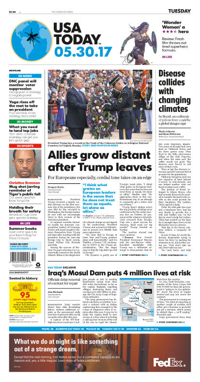 05/30/2017 Issue of USA TODAY MAIN