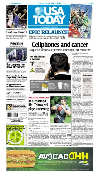 06/01/2011 Issue of USA TODAY