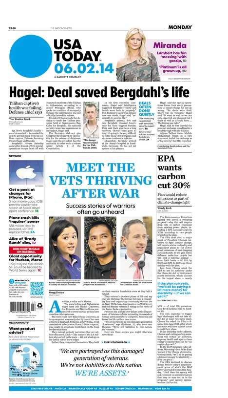 06/02/2014 Issue of USA TODAY